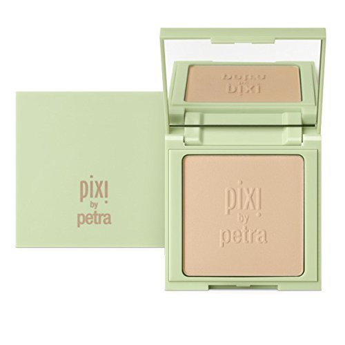 Pixi Color Correcting Powder Foundation, Warm, 0.28 Ounce by Pixi Pixi Foundation