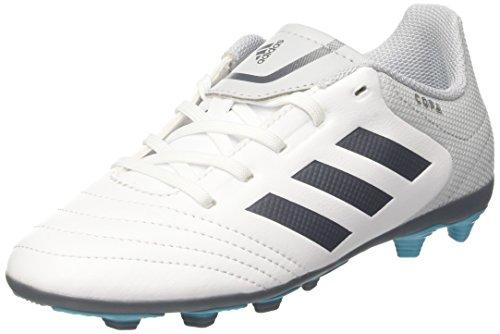adidas Unisex-Kinder Copa 17.4 Fxg Fußballschuhe, Weiß (Clear Grey/Footwear White/Onix), 36 2/3 EU -