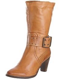 Maruti Palmazio cognac leather 66.30152.2024 - Botas de cuero para mujer