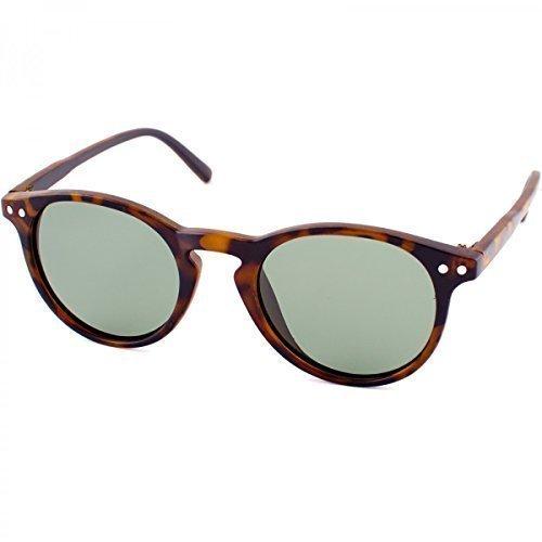 Polarisierend Kinder Sonnenbrille Polbrille Polarizird Fram Aviator New Wayfahrer , Rahmenfarbe:Braun/Klar