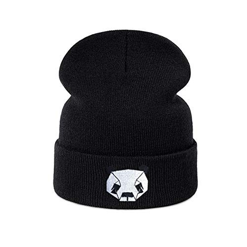 CC&Kaes Hut Mode Winter Hut für Frauen Hut weich warm   Unisex Cap Cartoon Logo Trend Cap Skullies Beanies -