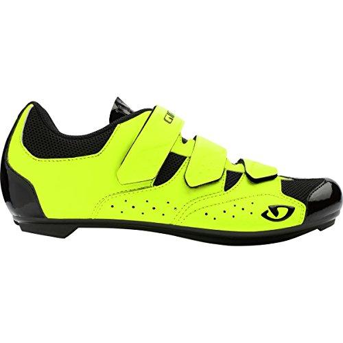 Giro Techne Road, Zapatos de Ciclismo de Carretera para Hombre, (Highlight Yellow 000), 44.5 EU