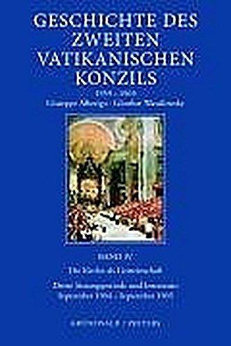 Geschichte des Zweiten Vatikanischen Konzils (1959-1965) / Geschichte des Zweiten Vatikanischen Konzils (1959-1665): Die Kirche als Gemeinschaft. ... (September 1964 - September 1965), Bd. 4