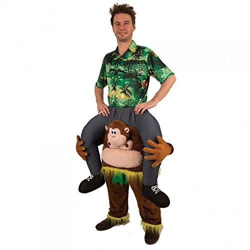 Reitkostüm / Aufsitzkostüm mit einem Affen / Hose / Huckepack Kostüm Reittier / Reiterkostüm / (Kostüm Reittier)