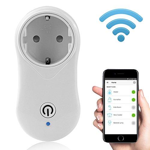 Preisvergleich Produktbild Uvistare Smart Steckdose Set Wifi Fernbedienung mit App Steuerung, USB Schalter, WiFi Switch Steckdose für Home Büro