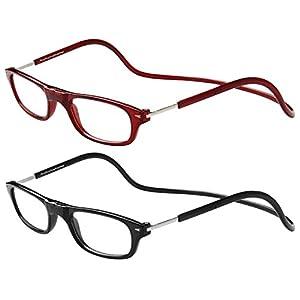 TBOC Pack: Lesebrille Lesehilfe für Herren und Damen – (Zwei Einheiten) Brillen