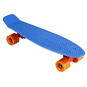 kreuzer stil mini skateboard 22 zoll kinderboard. Black Bedroom Furniture Sets. Home Design Ideas