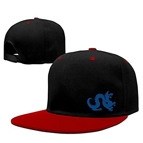 Fitty area Drexel Dragon Logo University Cool Trucker Hat One Size Red Red