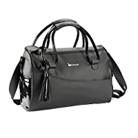 Badabulle Glossy Baby Changing Bag (Black)