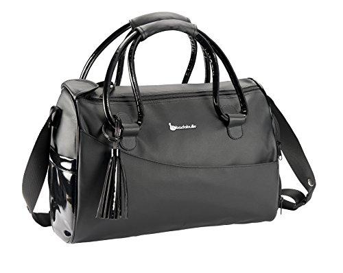 Badabulle B043011 Elegante Wickeltasche, schwarz