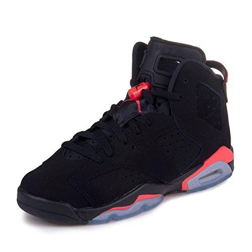 online store a6634 f0a2f Nike Air Jordan 6 Retro BG, Chaussures de Sport garçon - différents Coloris  - Noir