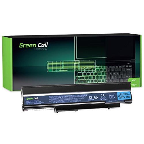 Green Cell® Standard Serie AS09C31 AS09C71 Batería para Acer Extensa 5235 5635 5635G 5635Z 5635ZG Ordenador (6 Celdas 4400mAh 11.1V Negro)