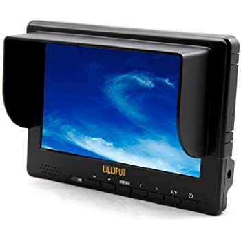 "Full HD Video Camera DV DC HDMI 1080P YPbPr Lilliput 667GL 7"" LCD Monitor"