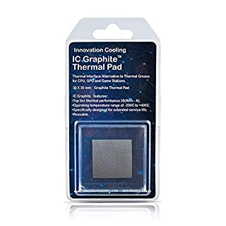 Innovation Cooling LLC IC Graphite Thermal Pad (30 X 30 mm) …