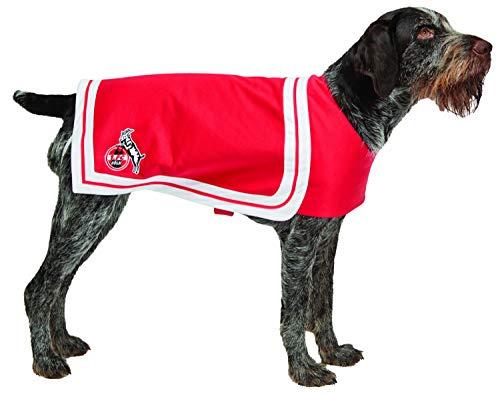 Rubies 1.FC Köln - Fan Zubehör - Cheerleader Flaggenkleid Hundecape (Hundecape, (Cheerleader Kostüme Für Hunde)