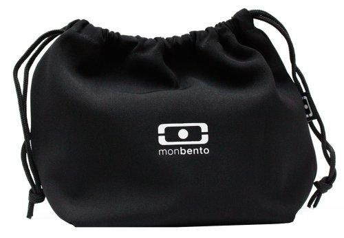 MB Pochette schwarz / weiß - Die Bento Tasche