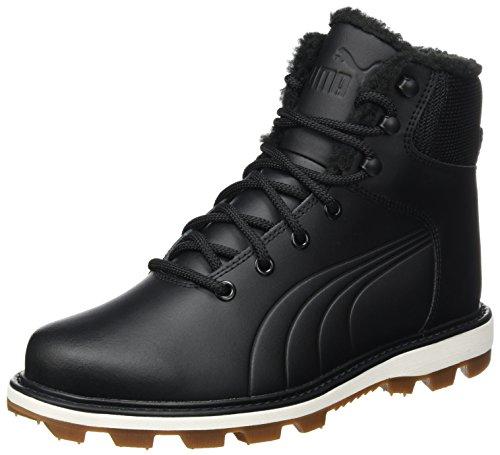 Puma Unisex-Erwachsene Desierto Fun L Hohe Sneaker, Schwarz Black Black 01, 40.5 EU (Puma Stiefel Für Frauen)