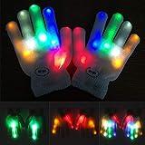 Balai Bunte blinkende Fingerhandschuhe, beleuchtende Handschuhe-Mädchen-Jungen-Spielwaren für bestes Winter-Geschenk 4 Farben erhältlich