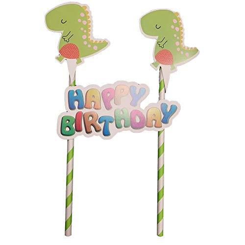 Aisoway 1Set Dinosaurier Flags Dinosaurier Thema Geschirr Geburtstags-Party-Baby-Duschen-Party Supplies