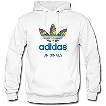 Colorful Adidas - Sudadera con capucha - para mujer