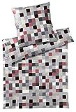 Bruno Banani Mako-Satin Bettwäsche Scala rot 155x220 cm + 80x80 cm
