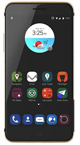 ZTE Blade V7 4G Oro - Smartphone (Android, gsm, UMTS, LTE, v6.0 (Marshmallow), Barra) (Importado)