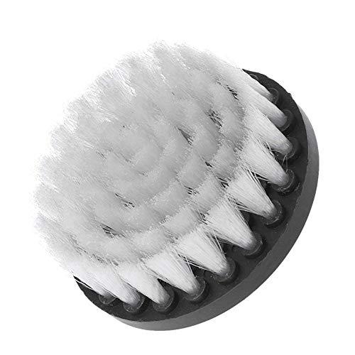 Yuema Multi-Purpose Elektrische Reinigungsbürste Nylon Reinigungsbürste für Badewanne und Küchensofa (6 Größen optional) weiß