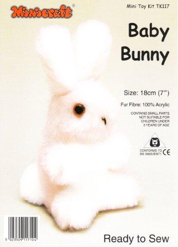 Dempsey Designs Minicraft 18 cm Babyhäschen Kit Pink (Kit Bunny Zubehör)