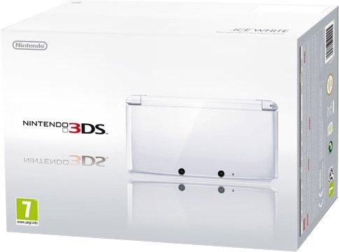 Nintendo 3DS – Konsole, schneeweiß [ES-IT-PT Version]