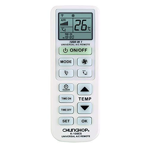 CHUNGHOP K 108ES, Mando Distancia Aire Acondicionado