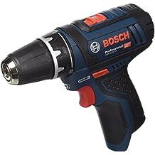 Bosch GSR 12V-15 Professional - Taladro eléctrico (12 V, sistema ECP), negro y azul