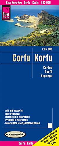 Reise Know-How Landkarte Korfu / Corfu (1:65.000): world mapping project -