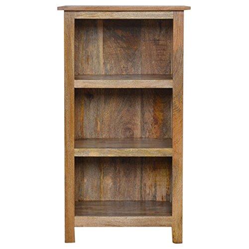 Artisan mobili rustici libreria con 3ripiani, in legno, con finitura in rovere naturale, 102cm