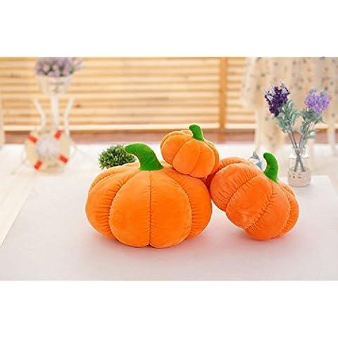 XJoel zucca tiro cuscino cuscino del divano peluche ripiene Toy Dolls zucche decorative autunno Accent Pillow 7 pollici