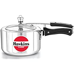 HAWKIN Classic A30 3-Liter New Improved Aluminum Wide Mouth Pressure Cooker,...