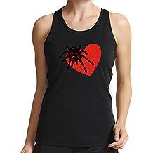 Eddany Red Kneed Tarantula Lover Women Tank Top
