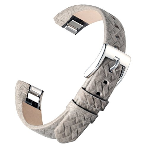 for-fitbit-alta-fitbit-alta-hr-bayite-replacement-leather-straps-textured-grey