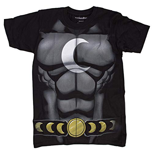 Moon Knight Kostüm - Marvel I Am Moon Knight Herren Kostüm T-Shirt | S