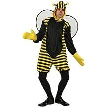 Atosa - Disfraz de abeja para hombre c3c690f0b50