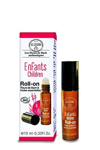 Elixirs & Co Roll-on Enfant aux Fleurs de bach et Huiles essentielles BIO 10 ml