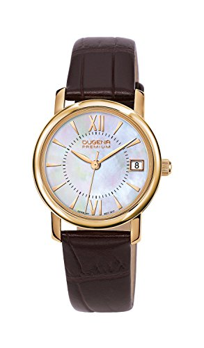 Dugena Ladies Watch Rondo Petit Analog Quartz Leather 7000157