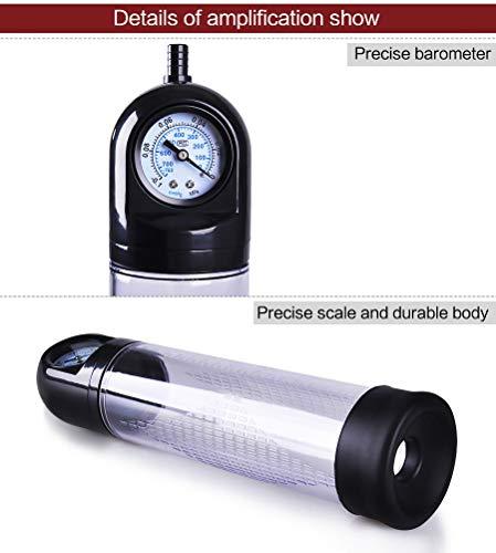 Mmdoo Massager di vuoto potente più potente della pompa tenuta in mano automatica del massaggiatore per gli uomini