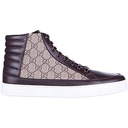 d06f6f45e Gucci zapatos zapatillas de deporte largas hombres nuevo gg supreme beige  EU 42 411857 A9LN0 2167