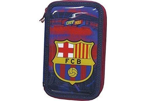 Futbol Club Barcelona- Plumier 3 Pisos (CYP Imports EP-103-BC)