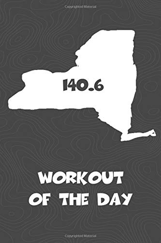 Workout of the Day: New York Workout of the Day Log for tracking and monitoring your training and progress towards your fitness goals. A great ... bikers  will love this way to track goals! por KwG Creates