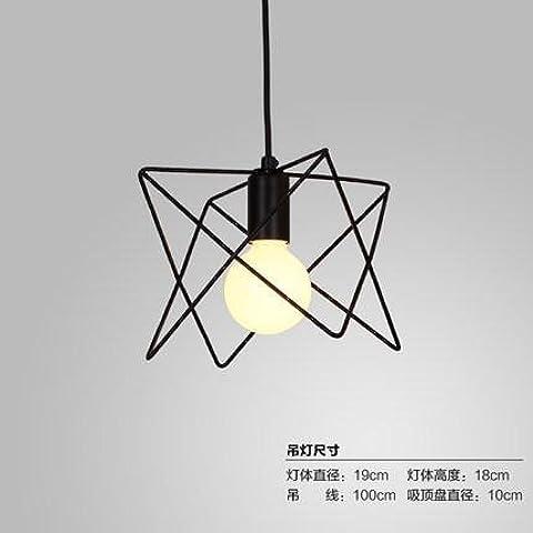 BBSLT Diamond birdcage lampadario , un - Nessun Perle Trapano