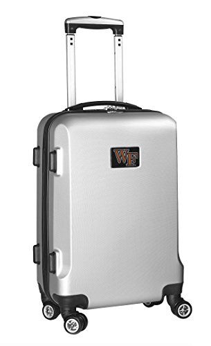 ncaa-wake-forest-demon-deacons-carry-on-hardcase-spinner-silver-by-denco