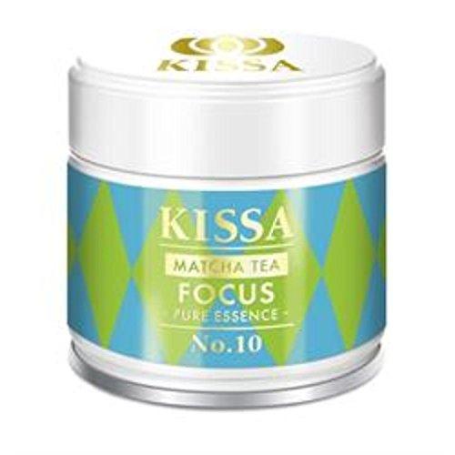 KISSA Focus Matcha Tee in Original Bio Qualität aus natürlichem Anbau in Japan in edler 30g Teedose