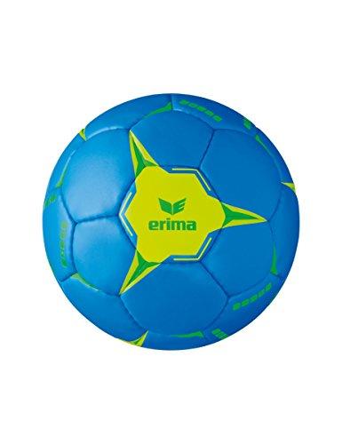 Erima G13 2.0 Training Handball, blau/Lime, 3