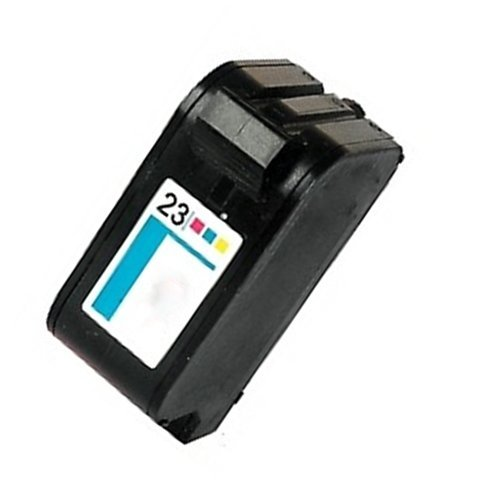 Rigenerate HP 23 / C1823D Cartuccia d'inchiostro per Stampanti HP PSC 500 / DeskJet 710C / DeskJet 720C / DeskJet 810C / DeskJet 815C / DeskJet 890C / DeskJet 895Cxi / DeskJet 1120C / OfficeJet R45 / OfficeJet T45 / OfficeJet T65 / OfficeJet 1170 Cxi / DeskJet 722C / DeskJet 880C / DeskJet 1125C / OfficeJet R65 / DeskJet 894Cxi / OfficeJet 1175C / OfficeJet Pro 1170C
